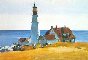 "Hopper's ""Portland Headlight"""